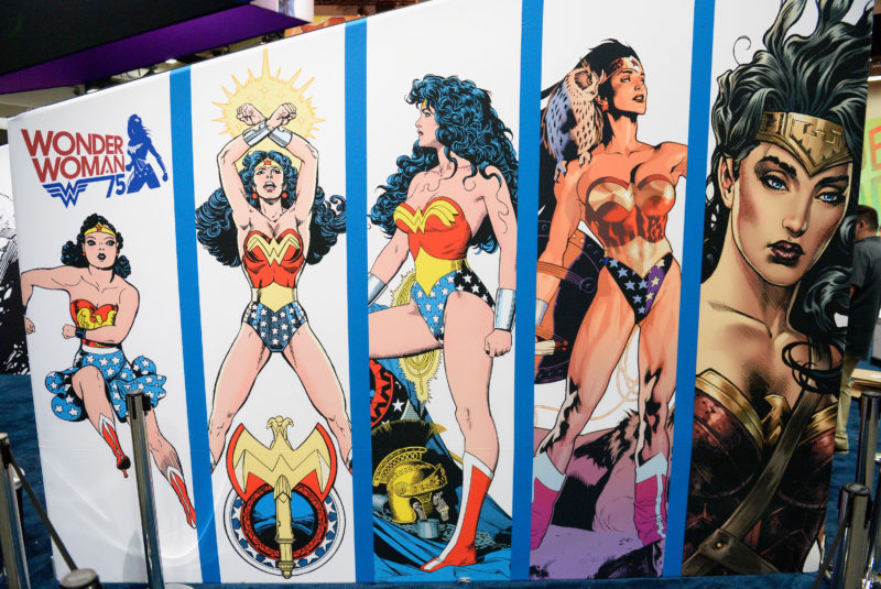 Wonder Woman am Comic-Festival in Kalifornien 2016. (Bild: Matt Cowan/Getty Images)