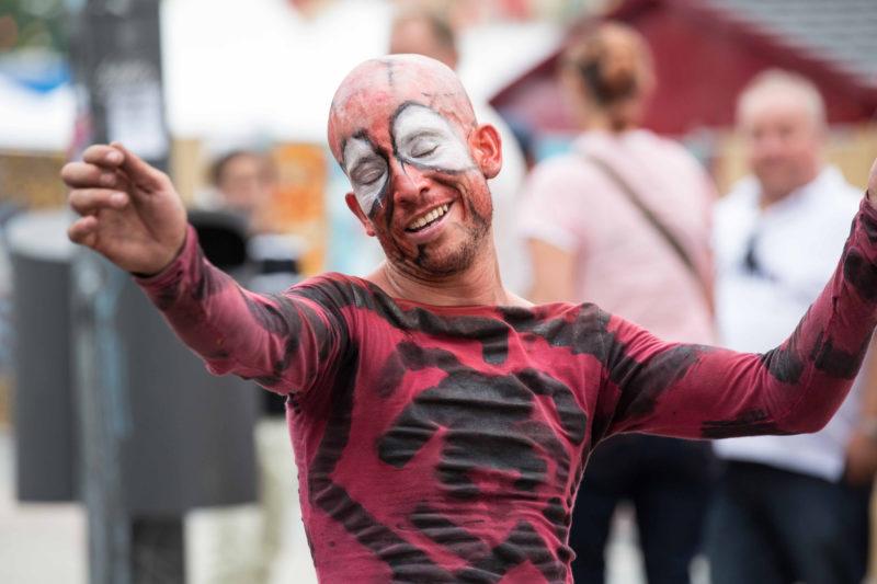 Mut zur «Disruption» ist gefragt: Spiderman-Strassenkünstler in Berlin. Foto: Ravvo11 (Flickr)