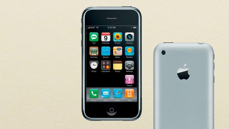 Das iPhone, Schnickschnack für die Mittelklasse. Montage: Nathalie Blaser