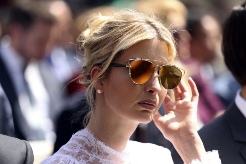 Arme Ivanka: Trumps Tochter litt so sehr unter Stress, das nicht einmal Zeit für eine Massage blieb. Ja, was sagt man dazu? Foto: Andres Harnik (AP/Keystone)