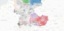 Für Brotanschnitt gibt es 50 deutsche Begriffe – und weitere 23 Dialektkarten