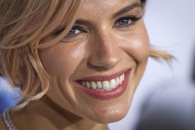 "Actress Sienna Miller arrives for the premiere of the film ""American Sniper"" in New York"