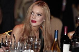 Trinken gehört zu einem aktiven Solzialleben: Die Schauspielerin Lindsay Lohan 2012 an einem Dinner im Weissen Haus. Foto: Larry Downing (Reuters)