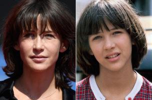 Die doppelte Sophie: Marceau links an den Filmfestspielen in Venedig 2016, rechts als rebellischer Teenager in «La Boum» (1980). Fotos: AFP, PD