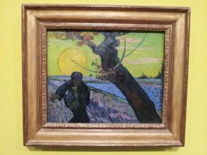 Sämann von Vincent Van Gogh. Selbst geknipst. Bloss zum Schauen, wie sich das anfühlt.
