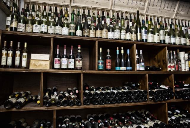 Der Weinkeller von Elio Altare gleicht einer königlichen Schatzkammer.