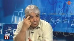 Steht zu seinen Meinungen: Raymond Bardet, Bürgermneister und Vater, im TV-Studio von 8 Mont-Blanc, Juni 2013. (Screenshot: Youtube)