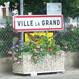 Sogar TF1 berichtete über das Wunder von Ville-la-Grand.