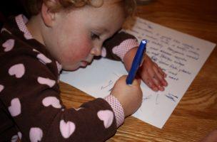 Vergebene Liebesmüh: Ein Kind schreibt dem Weihnachtsmann ...