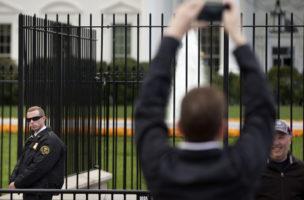Der sicherste Ort in Washington DC: Das Weisse Haus.