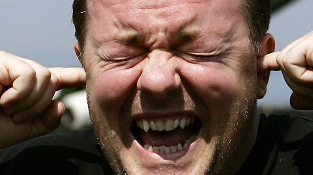 Schauspieler Ricky Gervais. (Reuters/David Moir)