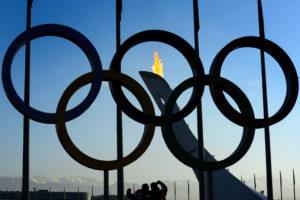 Das Olympische Feuer in Sotschi 2014. Foto: Laurent Gilliéron (Keystone)