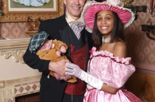 Politische Provokation: Joe Morrisey und seine Frau Myrna posieren in Kostümen aus dem alten Virginia. (Bild: Joe Morrissey)