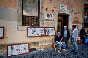 Trotzte allen Wirren postkommunistischer Politik: Sitz der Partitio Comunista Italiano in Rom. (Getty Images)