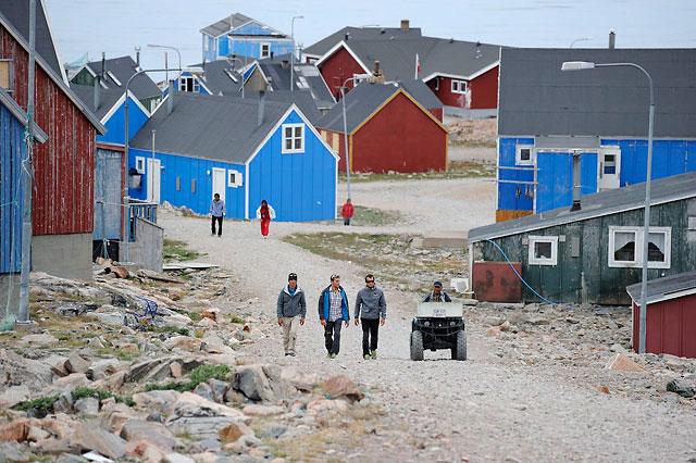 Inuit heute wohnen