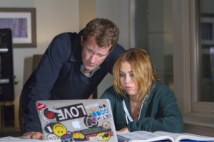 Miley Cyrus und Thomas Jane