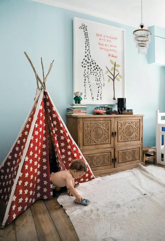 Baldachin kinderzimmer selber machen  Kreative Ideen fürs Kinderzimmer | Sweet Home
