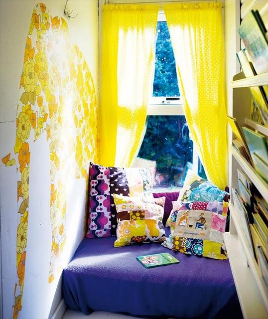 Leseecke kinderzimmer  12 neue Ideen fürs Kinderzimmer | Sweet Home