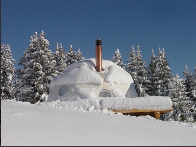 Wohnen Im Zelt : Skiferien im zelt sweet home
