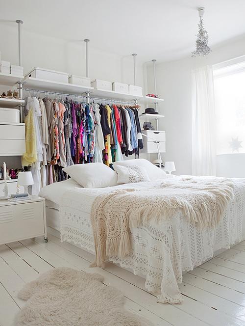 Offener kleiderschrank in kleinem zimmer  Mehr Platz zum Wohnen | Sweet Home