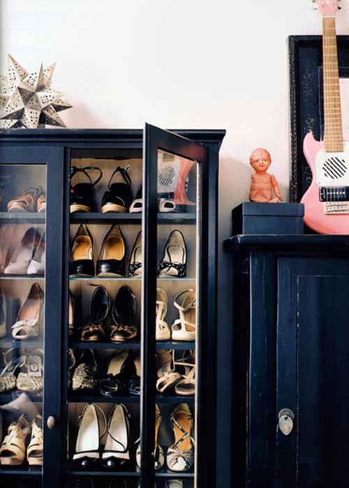 schuhregale und schuhaufbewahrung kreative ideen. Black Bedroom Furniture Sets. Home Design Ideas