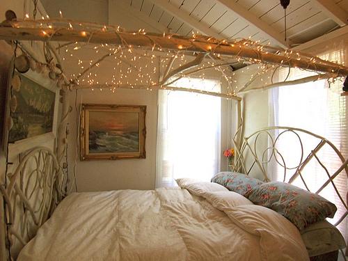 Sommernachtstraum sweet home - Romantisches schlafzimmer mit himmelbett gestalten ...