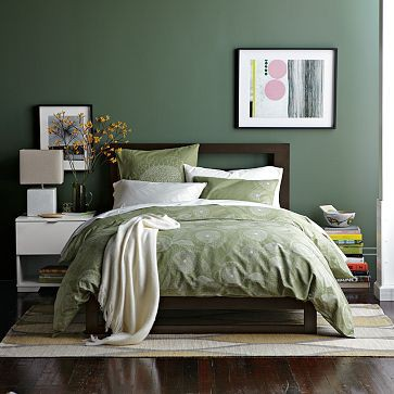 12 einrichtungstipps die berall gut funktionieren for Bedroom interior designs green