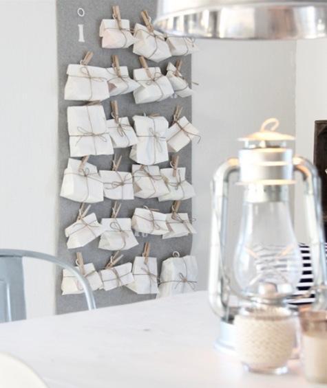 Zum advent 10 schnelle dekorationsideen und 5 sch ne kalender sweet home - Schone pinnwand ...