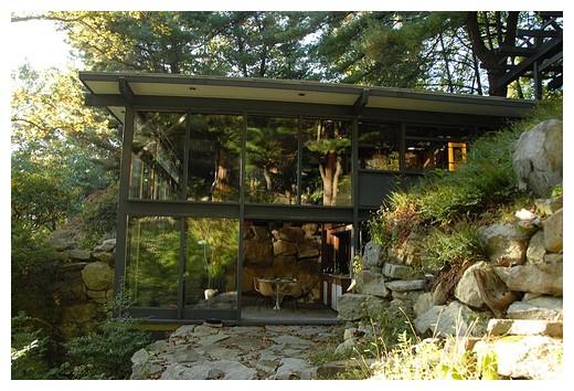 so wohnte russel wright ein amerikanischer designpionier sweet home. Black Bedroom Furniture Sets. Home Design Ideas
