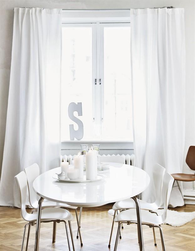10 einfache wohnideen die lust auf frisches weiss machen for Wohnideen esszimmer