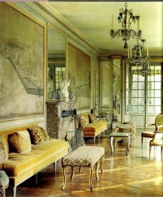Elsie de Wolfe's and Elizabeth Marbury's Villa Trianon at Versailles