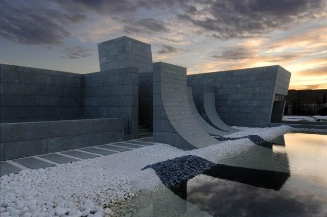 Wohnen wie in tausend und einer nacht sweet home for Modernes betonhaus