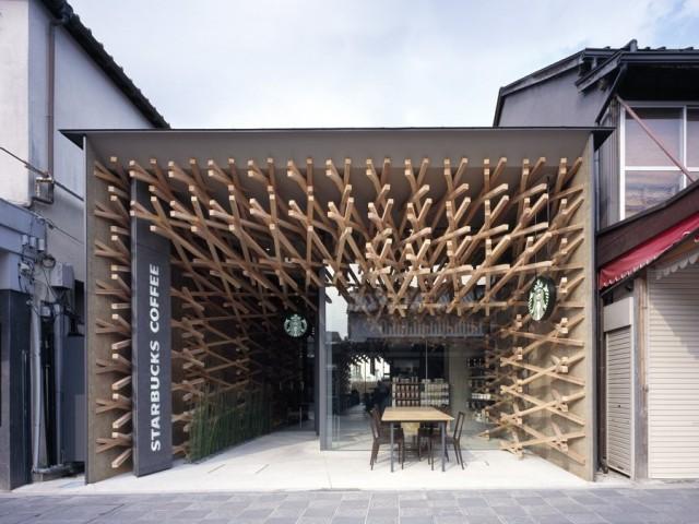 kengo kuma ein japanischer architekt der h user. Black Bedroom Furniture Sets. Home Design Ideas