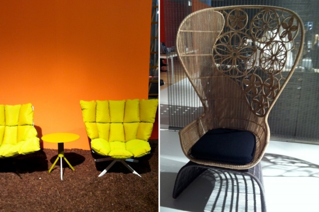 m belmesse milano 2012 die seventies melden sich zur ck sweet home. Black Bedroom Furniture Sets. Home Design Ideas