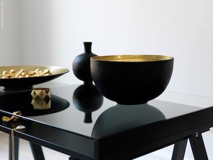 gold silber bronze sweet home. Black Bedroom Furniture Sets. Home Design Ideas