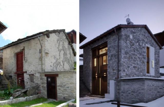 Ein berghaus das reinpasst sweet home - Restaurar casas antiguas ...