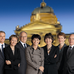 Der Bundesrat am 1. November 2010.