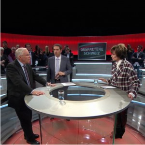 Micheline Calmy-Rey contre Christoph Blocher