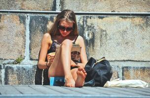 Sonnenbaden in Unterwäsche – geht das?