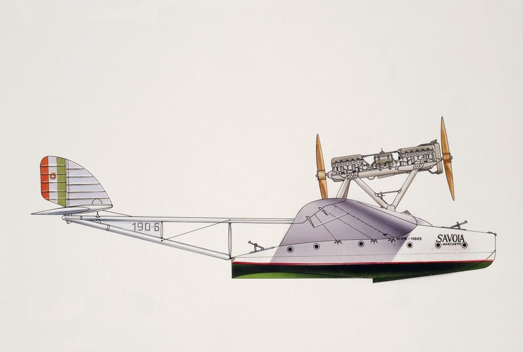 Savoia-Marchetti S55 1933, Italien
