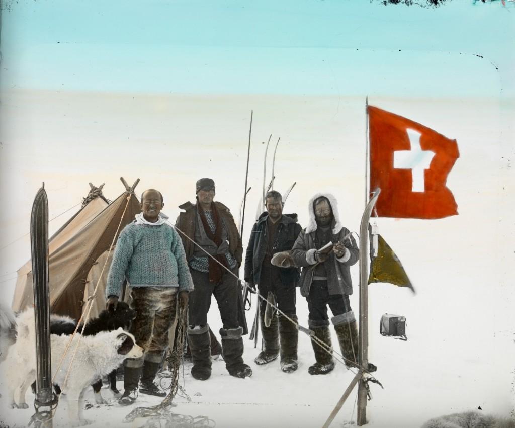 Inlandeis 2510 m, Zeltplatz 21 auf höchstem Punkt, Hoessly [Hö