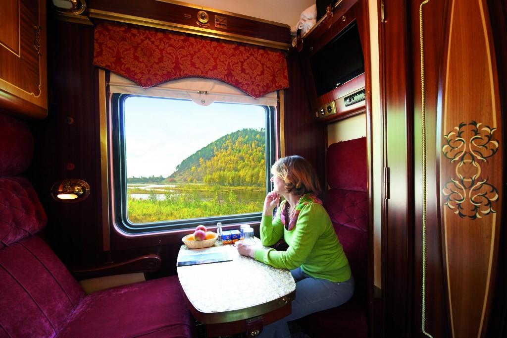 Die komfortabelste Art des Reisens auf der Transsib - Axel Heumisch X