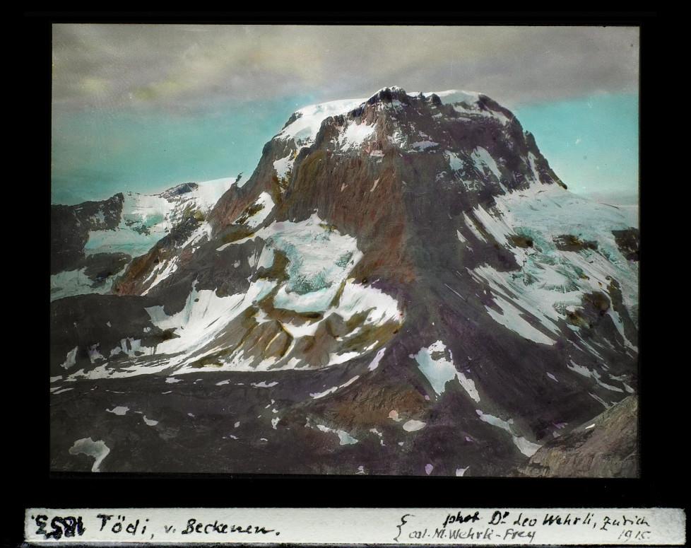 Berg, Schneefelder