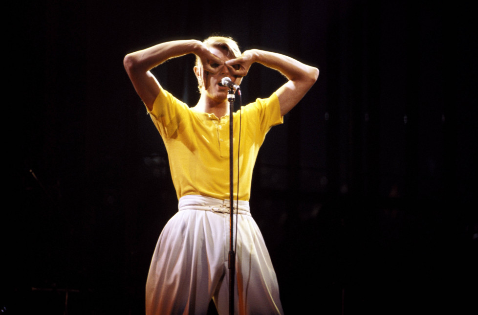 UNITED STATES - MAY 01: MADISON SQUARE GARDEN Photo of David BOWIE, performing live onstage on Low/Heroes 1978 World Tour (Photo by Richard E. Aaron/Redferns)