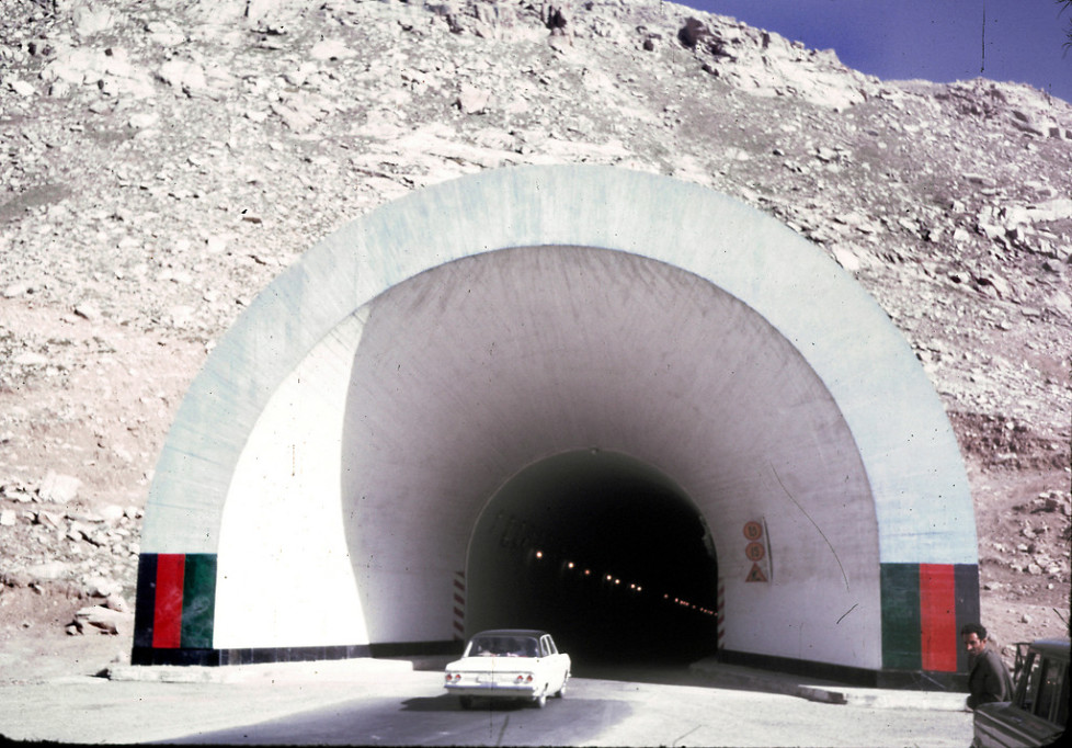 """""""The Salang Tunnel, located in Parwan province, is a link between northern and southern Afghanistan crossing the Hindu Kush mountain range under the difficult Salang Pass. The Soviet-built tunnel opened in 1964."""""""