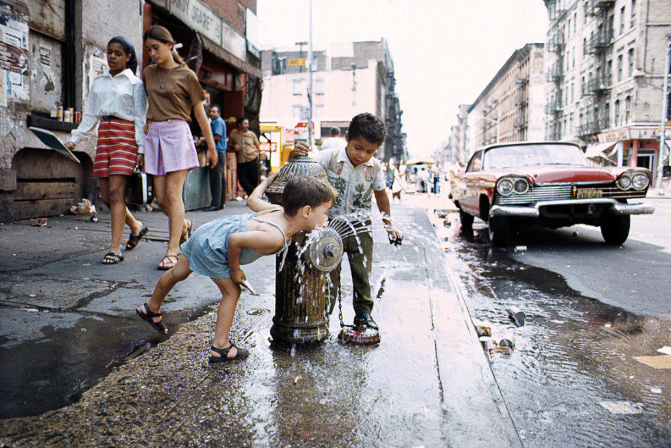 Avenue C, Lower East Side, 1970