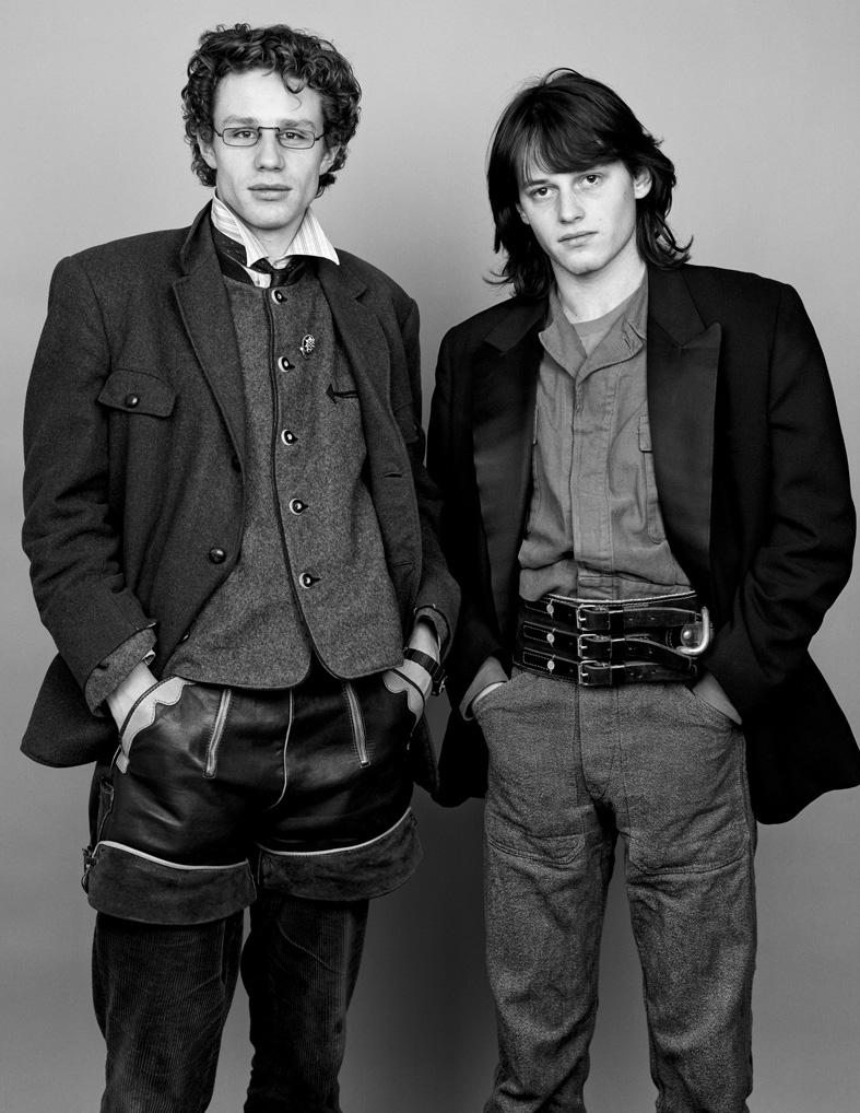 ** AS TIME GOES BY ** Franz & Matthias 1982