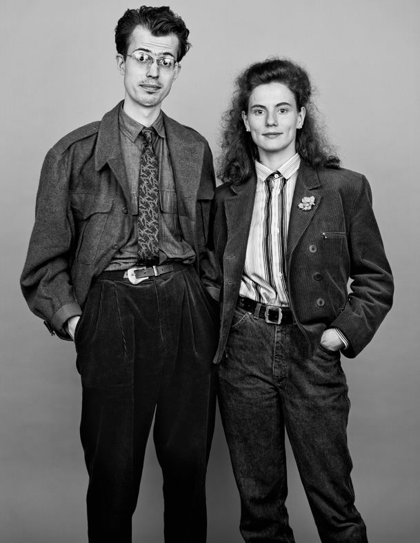 ** AS TIME GOES BY** Sascha & Barbara 1988