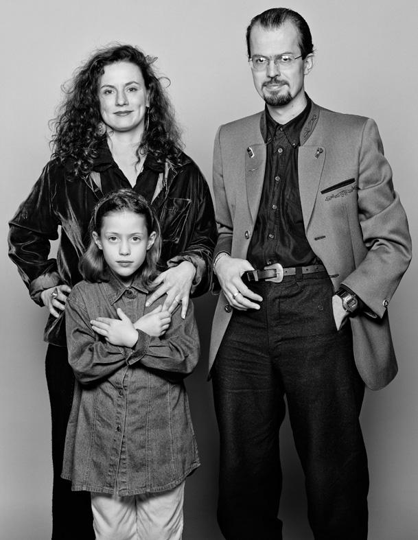 **AS TIME GOES BY** Barbara & Sascha mit Aniko 1997