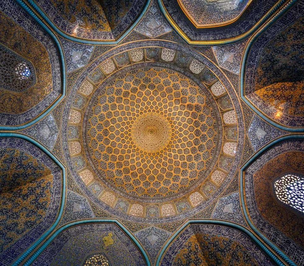 Ceiling of Sheikh lotfollah mosque